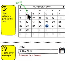 date in past